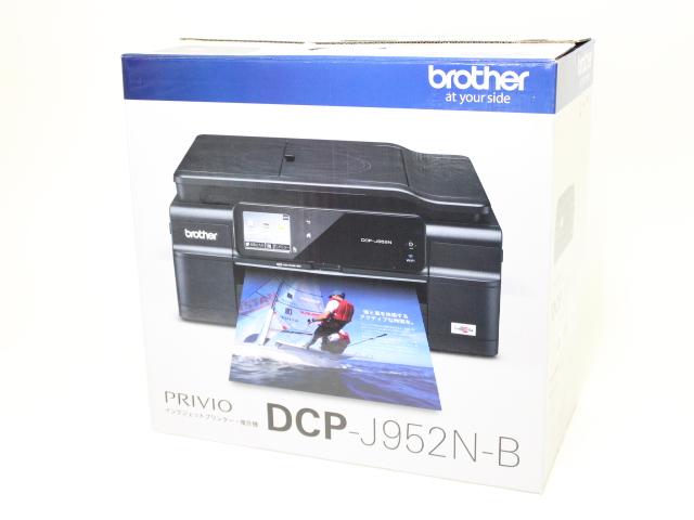 ブラザー インクジェット複合機 プリビオ DCP-J952N-B