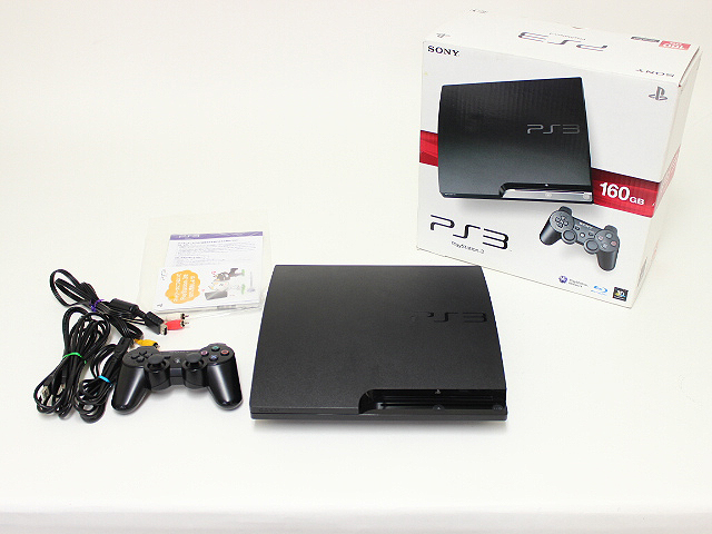 SONY PS3 本体 CECH-3000B 320GB  買取