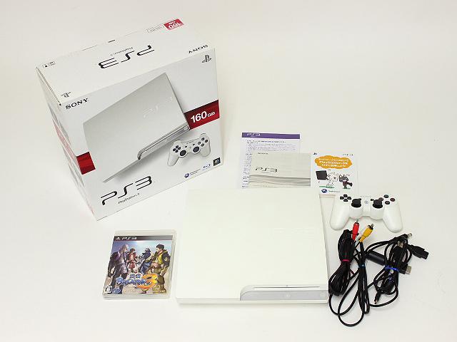 SONY PS3 本体 CECH-3000A LW 160GB 買取